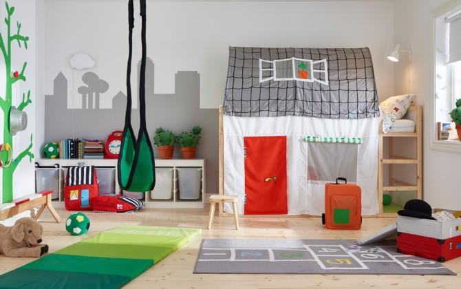 habitaciones infantiles IKEA, cama IKEA, habitacion bebe IKEA, Decoracion Infantil, Blog de Moda Infantil, 7