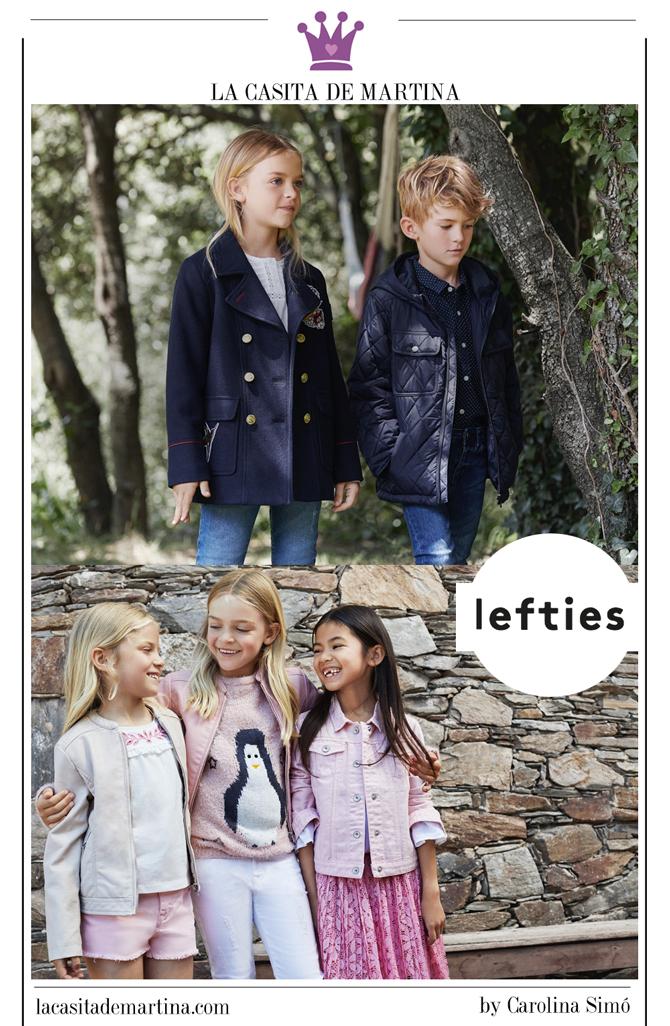 Moda infantil vuelta al cole, Lefties, La casita de Martina, Blog Moda Infantil