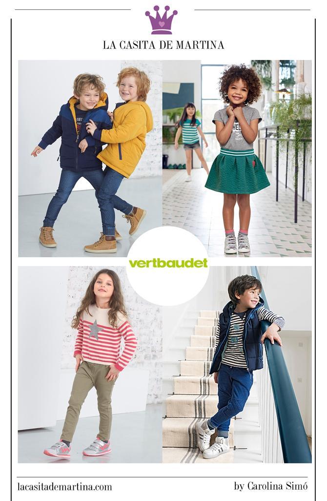 Moda infantil vuelta al cole, Vertbaudet, La casita de Martina, Blog Moda Infantil