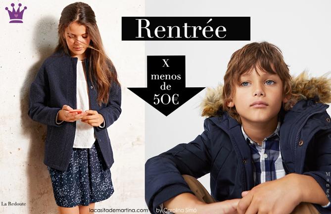 Blog de Moda infantil, Abrigos infantiles, Marcas de moda infantil, Mango, Zara, La Redoutte, La casita de Martina