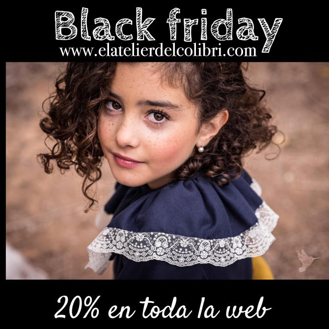 Moda infantil, Ropa infantil, El atelier del colibri, black friday,  Blog moda infantil