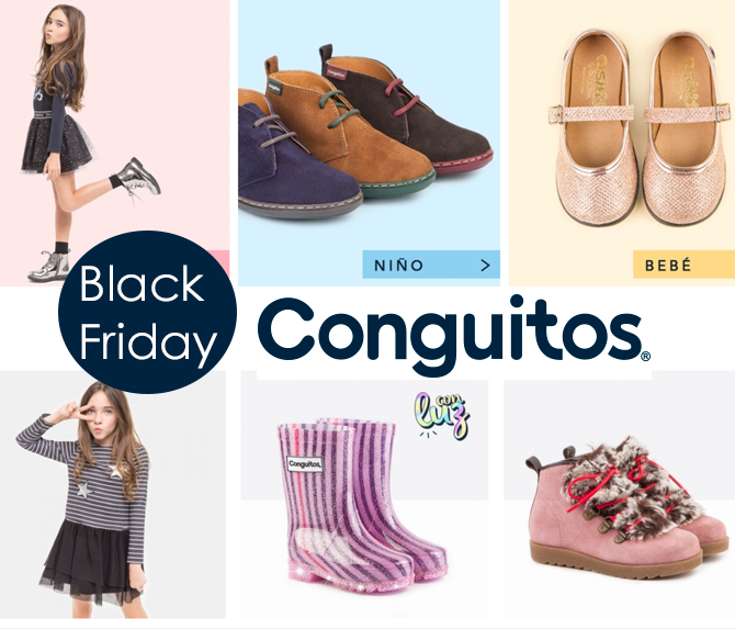 Conguitos, calzado infantil, moda infantil, kids wear, black friday