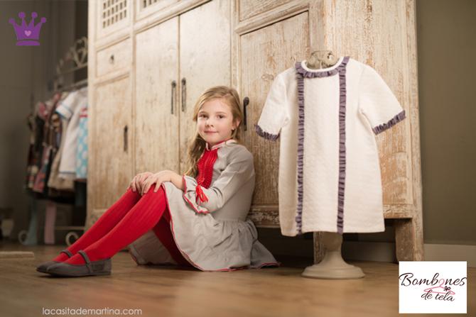 Bombones de tela, moda infantil segunda mano, ropa de marca segunda mano, ropa infantil, 3