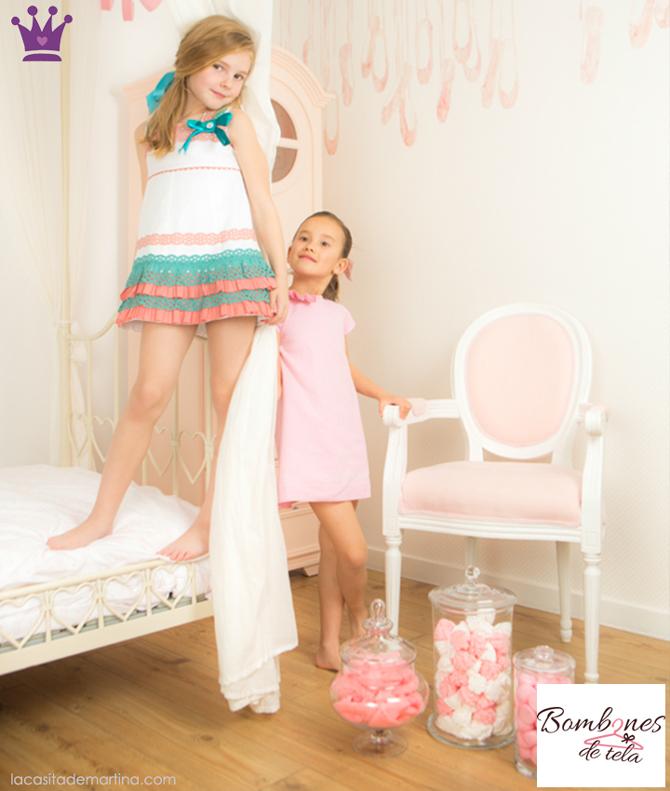 Bombones de tela, moda infantil segunda mano, ropa de marca segunda mano, ropa infantil, 2