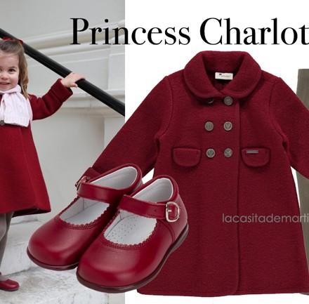 Princess Charlotte, Abrigo Charlotte Inglaterra, Blog de Moda Infantil, La casita de Martina