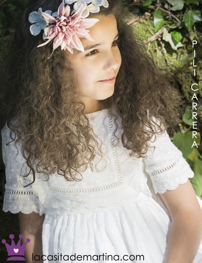 Vestidos de Comunion, Trajes de Comunion, Pili Carrera , La casita de Martina, Blog moda infantil