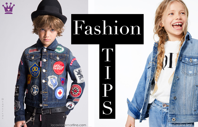 Blog de Moda Infantil, Ropa infantil, tendencias moda infantil, cazadora vaquera, La casita de Martina