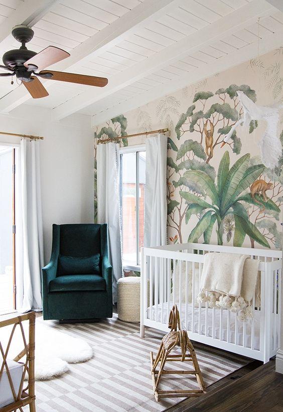 Papel pared cactus, Blog de moda infantil, La casita de Martina