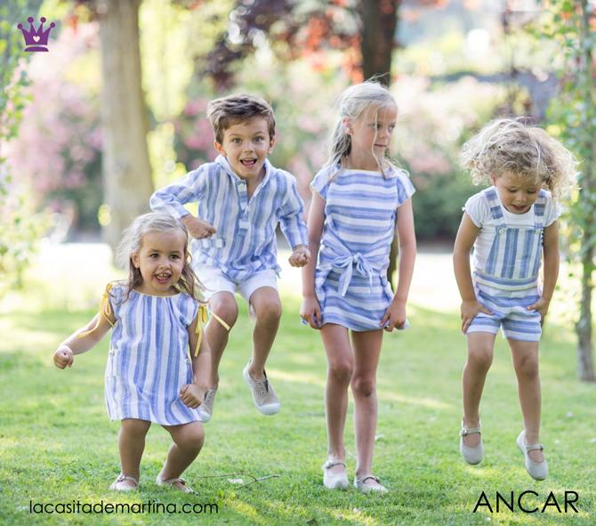 Blog de moda infantil, vestido de rayas, estilo marinero, marcas moda infantil, la casita de martina, Ancar