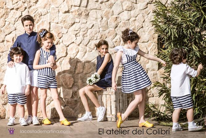 Blog de moda infantil, vestido de rayas, estilo marinero, marcas moda infantil, la casita de martina, Atelier del Colibri