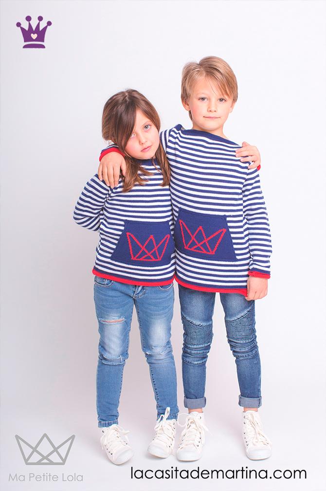 Blog de moda infantil, vestido de rayas, estilo marinero, marcas moda infantil, la casita de martina, Ma Petite Lola