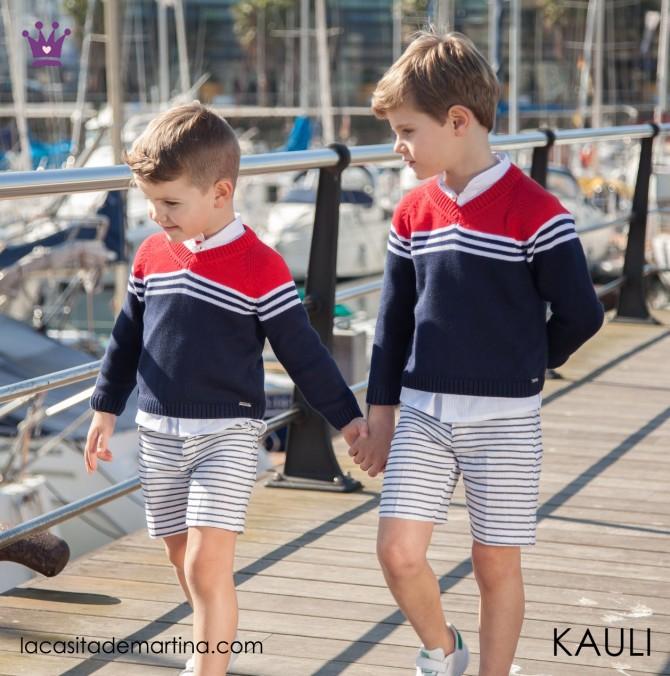 Blog de moda infantil, vestido de rayas, estilo marinero, marcas moda infantil, la casita de martina, Kauli