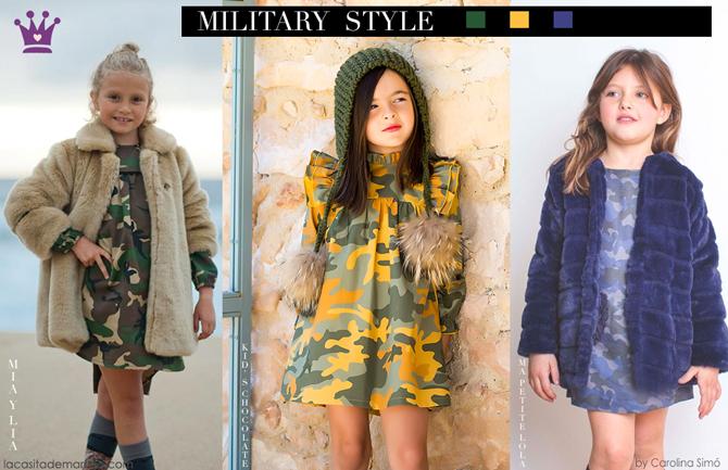 Blog moda infantil, vestido camuflaje, Mia y Lia, Ma Petite Lola, Kids Chocolate