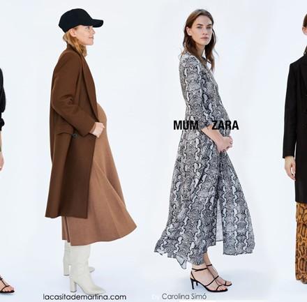 Moda premama Zara, Vestidos embarazada, pantalon vaquero premama, la casita de martina, blog moda infantil, premama