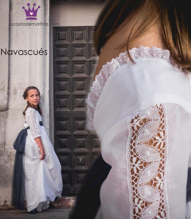 Vestidos comunion 2019, trajes comunion Navascues, Blog Comuniones, La casita de Martina, 3