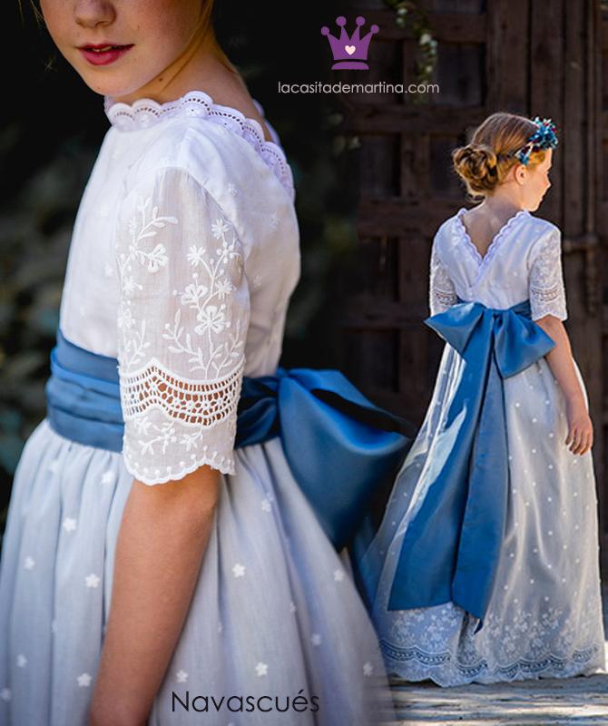 Vestidos comunion 2019, trajes comunion Navascues, Blog Comuniones, La casita de Martina,