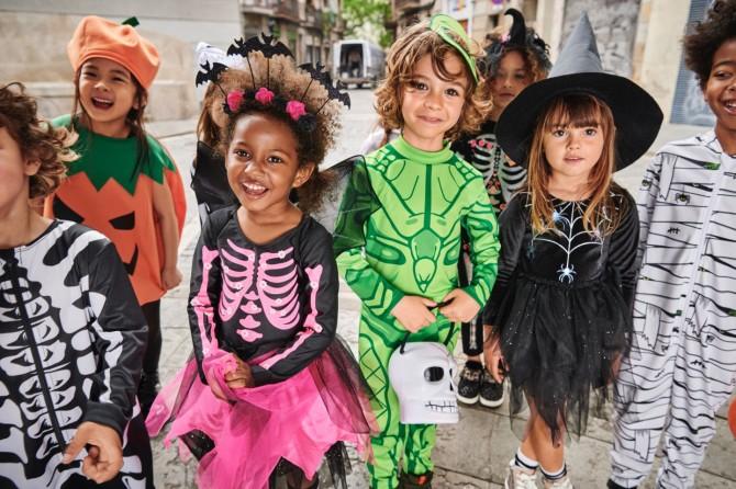 Disfraces baratos Halloween, disfraces originales halloween, blog moda infantil, la casita de Martina, hm