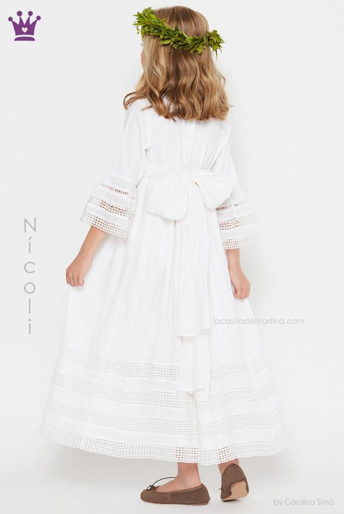 blog moda infantil, vestidos comunion Nicoli, La casita de Martina, Trajes comunion 2019, comuniones 2019