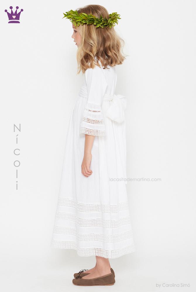 blog moda infantil, vestidos comunion Nicoli, La casita de Martina, Trajes comunion 2019, comuniones