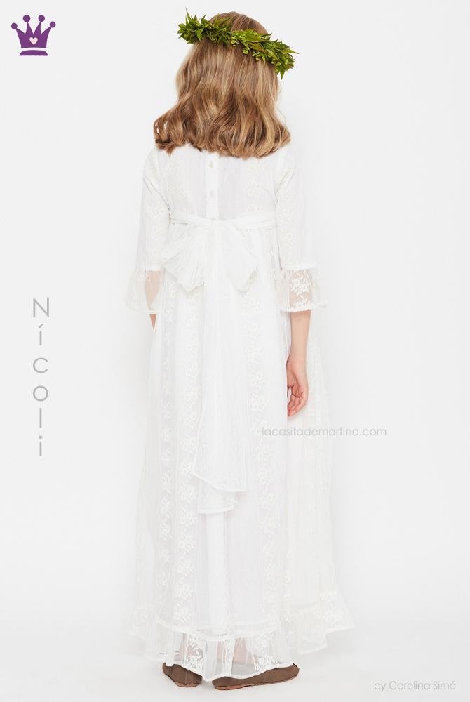 blog moda infantil, vestidos comunion Nicoli, La casita de Martina, Trajes comunion 2019