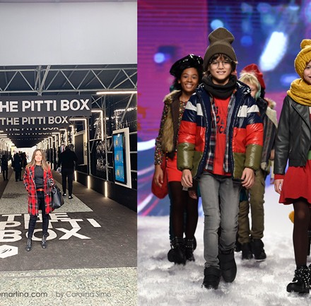 Blog de moda infantil, Pitti Bimbo, Desfile moda infantil, la casita de Matina, Carolina Simo