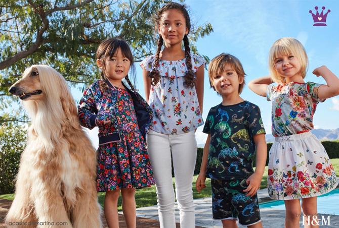 Blog moda infantil, hm, novedades ropa infantil, tendencias moda