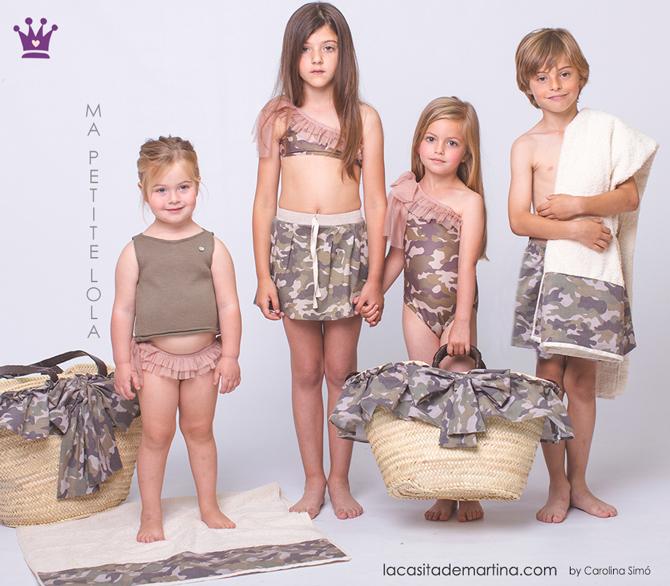 Blog de moda infantil, tendencias ropa infantil, la casita de Martina, Carolina Simo, bano infantil camuflaje
