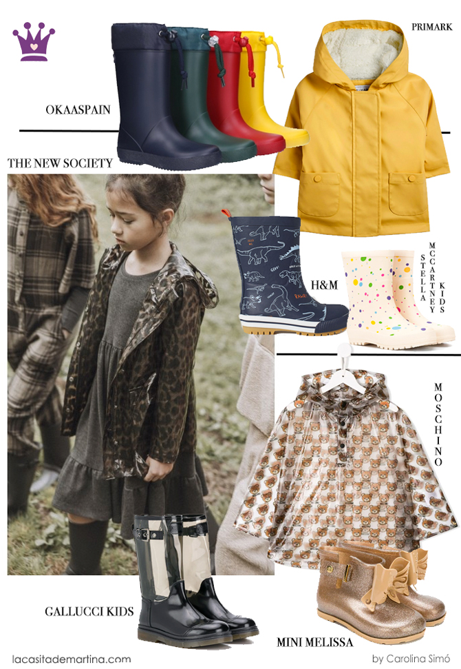 Chubasqueros, primark, the new society, blog moda infantil, La casita de Martina, carolina simo